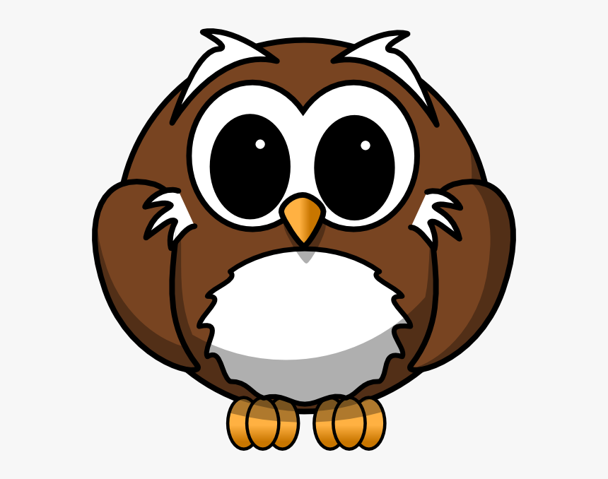 Thumb Image - Clker Cartoon Owl, HD Png Download, Free Download