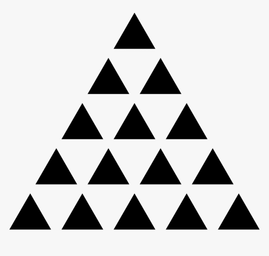 Illuminati Triangle Png - Triangle Of Triangles Png, Transparent Png, Free Download