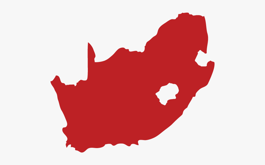 South Africa Map - South Africa Map Icon Png, Transparent Png, Free Download