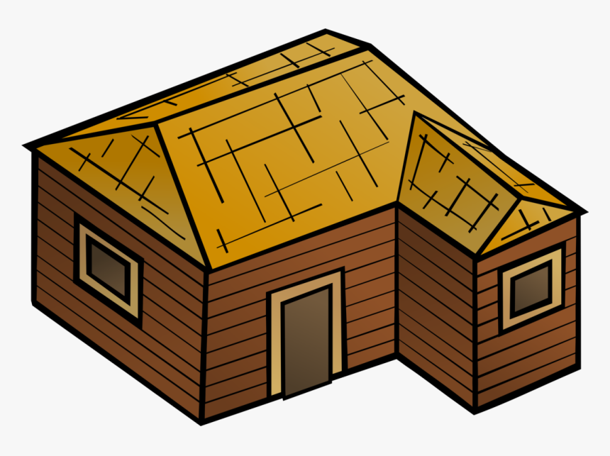 Collection Of House - Wood House Clipart, HD Png Download, Free Download
