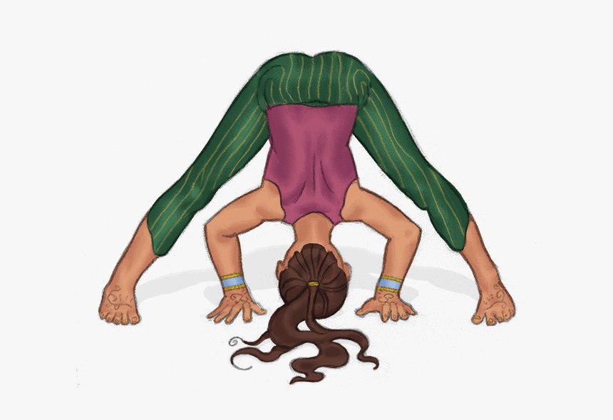 Pose To Help Children Calm Angry Feelings Kid Yoga Poses For 1 Hd Png Download Kindpng
