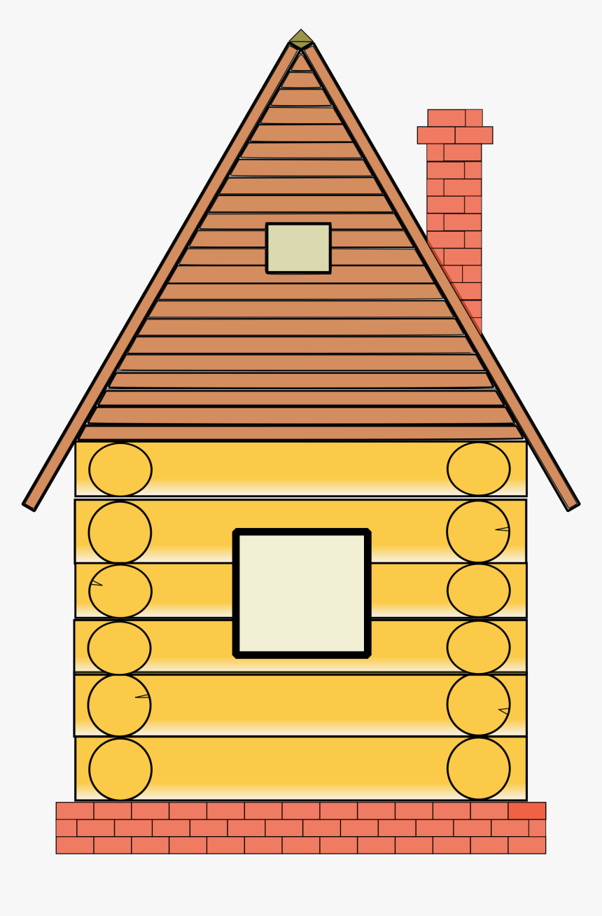 Wooden House Clipart, HD Png Download, Free Download