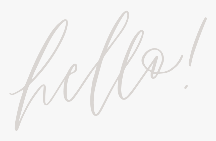 Hello - Calligraphy, HD Png Download, Free Download