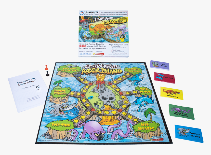 Escape From Anger Island - Illustration, HD Png Download, Free Download
