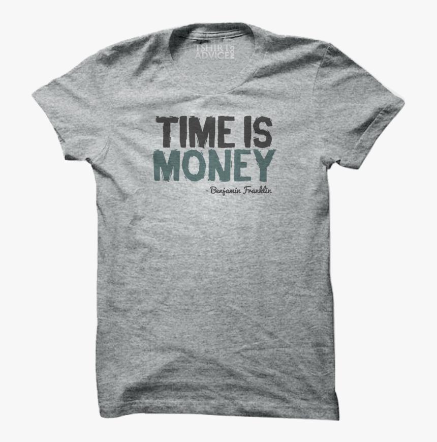 Benjamin Franklin T-shirts Time Is Money - Dallas Cowboys Throwback Shirt, HD Png Download, Free Download