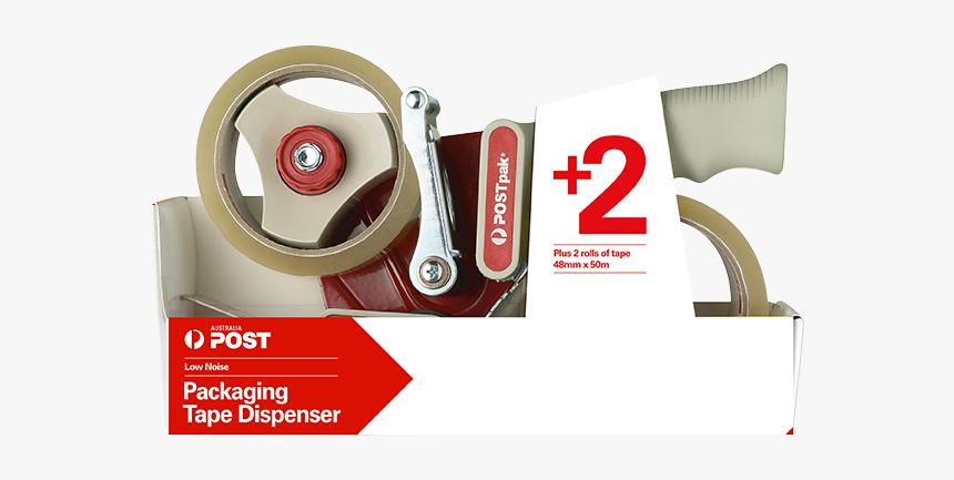 Packaging Tape Dispenser - Carton Packaging Tape Dispenser, HD Png Download, Free Download