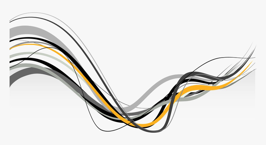 Electrical-wiring - Black Yellow Abstract Png, Transparent Png, Free Download