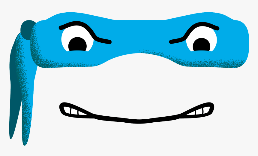 Ninja Turtles Mask Sticker Giacomo Ce For Ios Android - Ninja Turtle Mask Png, Transparent Png, Free Download