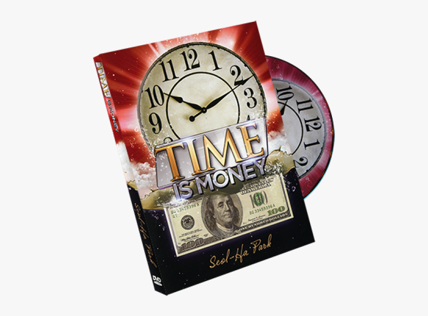 Time Is Money By Seol Park - 100 Dollar Bill, HD Png Download, Free Download