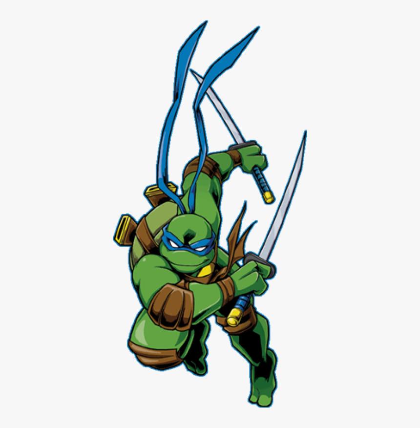 Ninja Turtles Png, Download Png Image With Transparent - Leonardo Ninja Turtles 2003, Png Download, Free Download