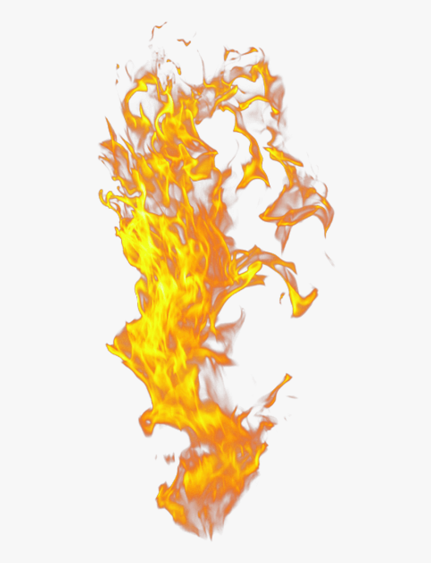 Flame,yellow,fire,orange - Transparent Background Flame Png, Png Download, Free Download