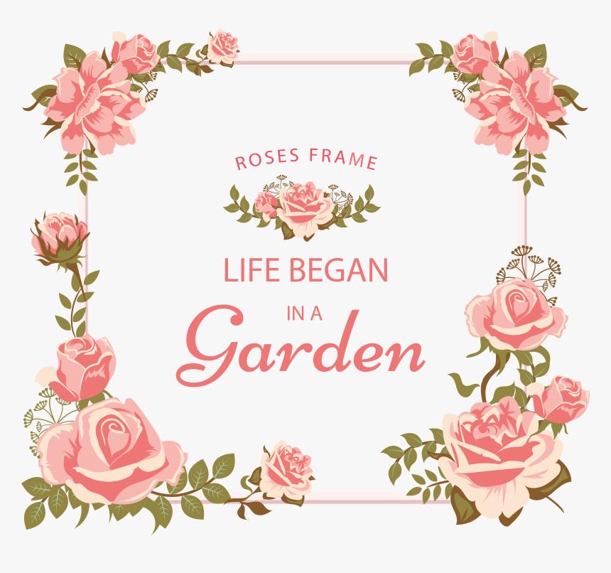 Freepik Com Floral Frame - Bunga Untuk Desain Undangan ...