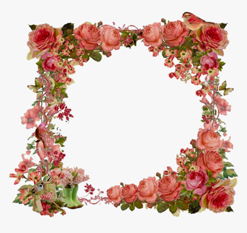 Shabby Chic Vintage Frame, HD Png Download, Free Download