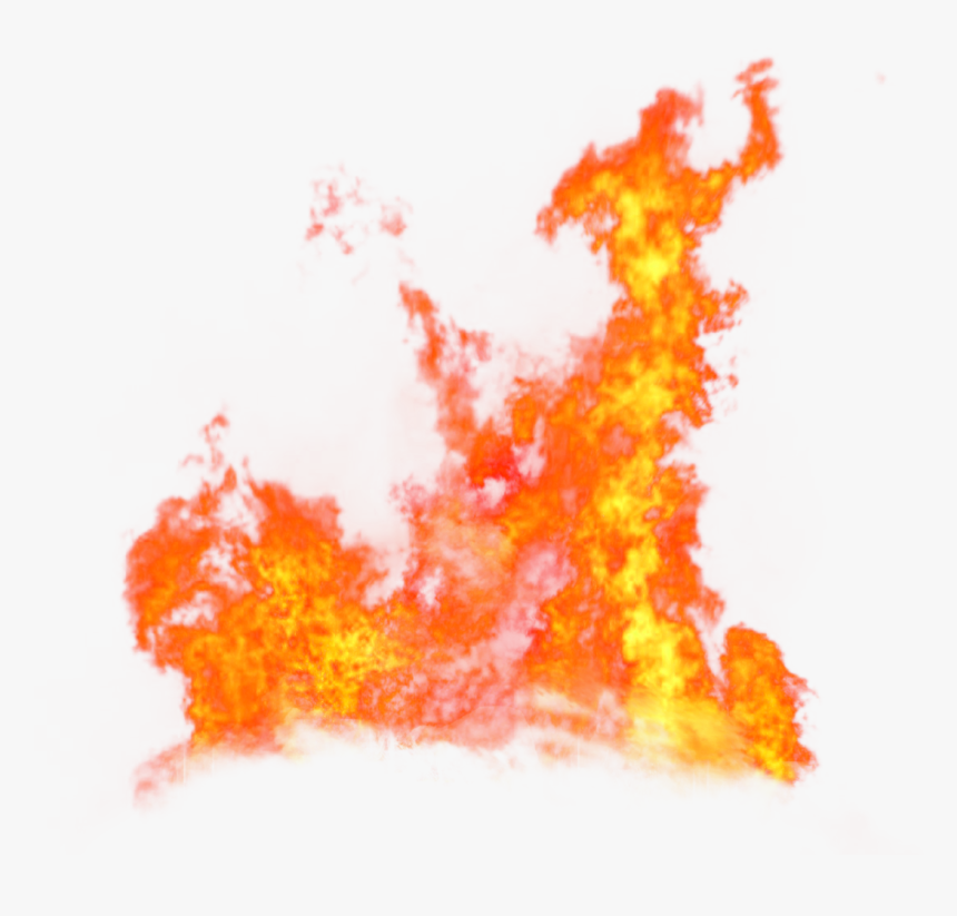 Fire Flame Blaze On The Ground Png Image - Transparent Background Fire Effect Png, Png Download, Free Download