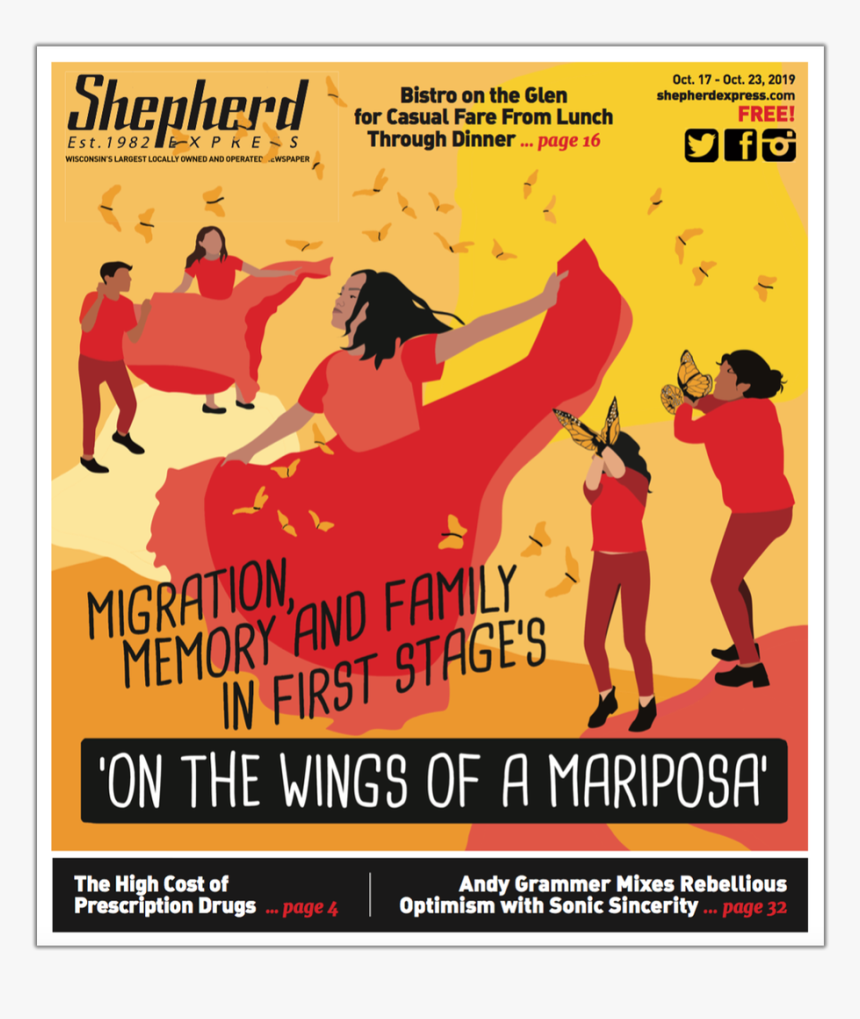 19 Cover - Shepherd Express, HD Png Download, Free Download