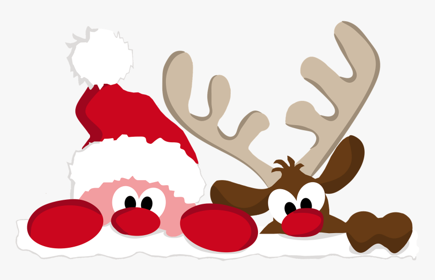 Reindeer Clipart - Christmas Cartoon