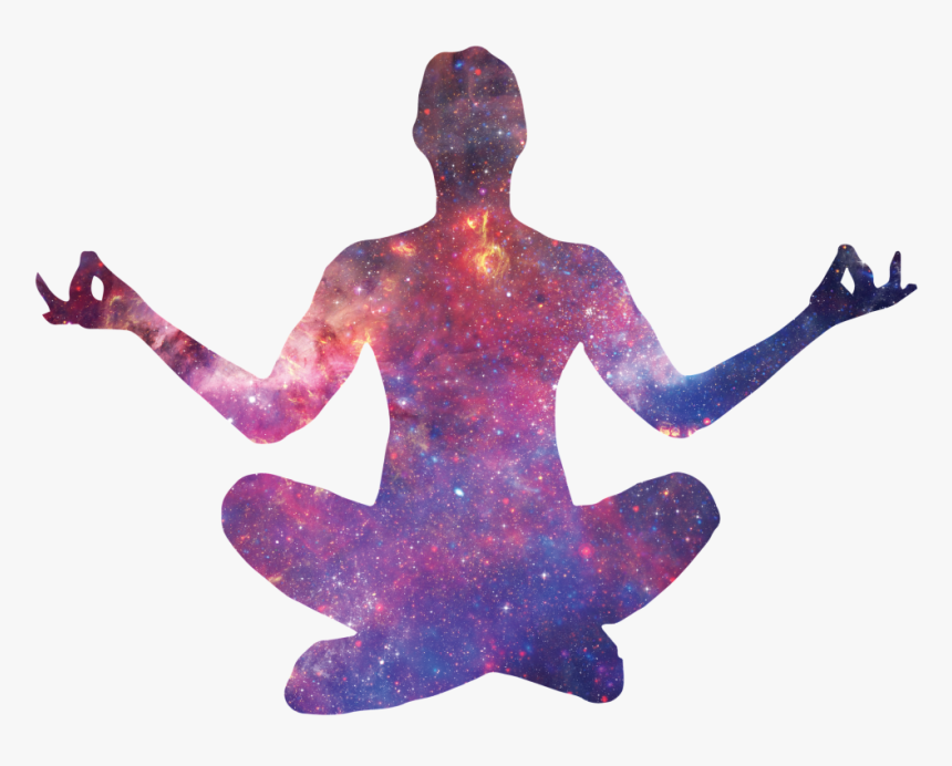 """""""silhouette Yoga - World Meditation Day 2019, HD Png Download, Free Download"""