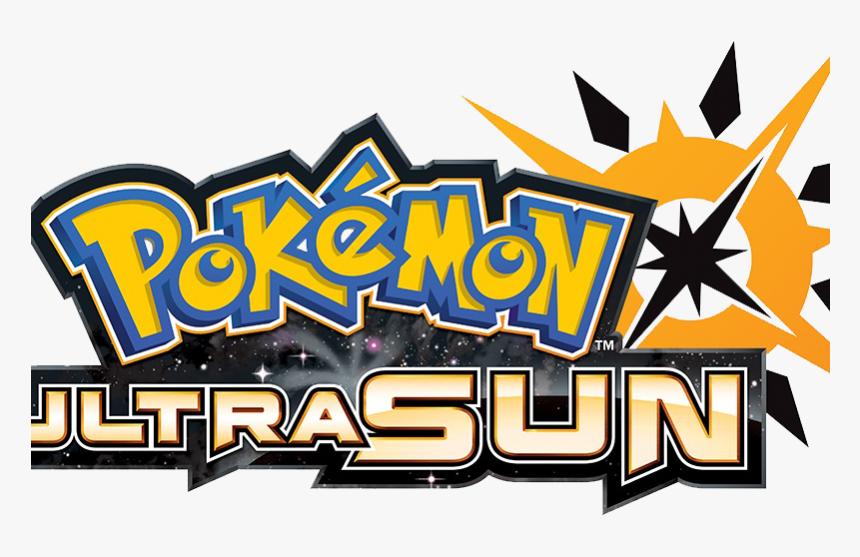 Pokémon Ultra Sun Logo-800x590 - Pokemon Ultra Sun Title, HD Png Download, Free Download