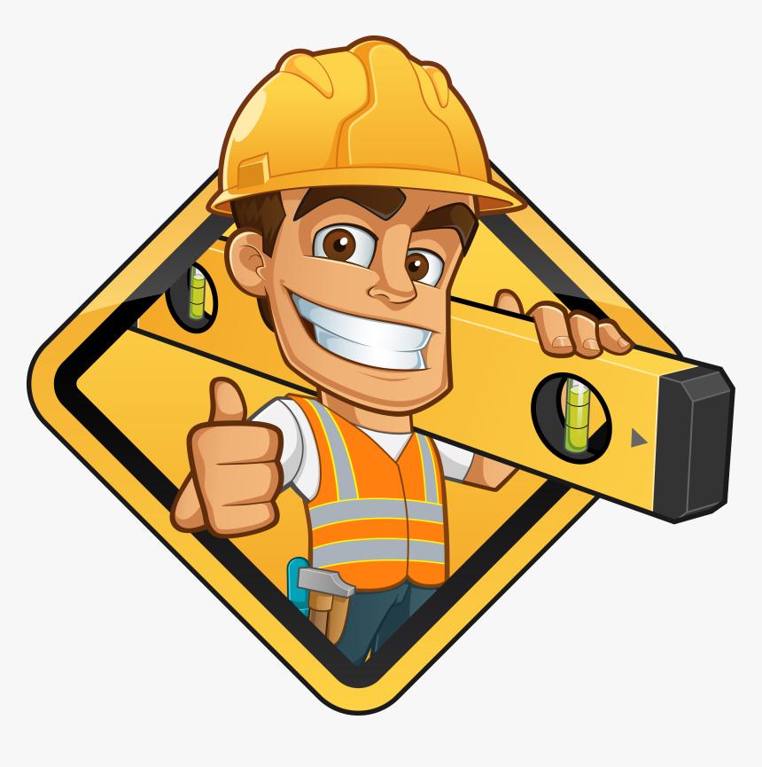 Gigantic Free Clipart Construction Worker Vector Graphics Cartoon Construction Worker Vector Hd Png Download Kindpng