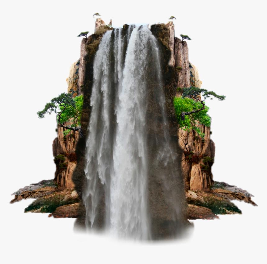 Waterfall Waterfalls Photograph Hd Png Download Kindpng