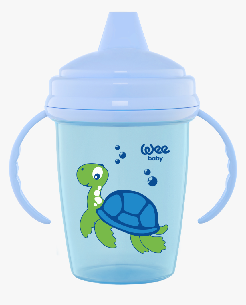 Wee Baby Enjoy Non-spill Pp Sippy Cup - Box Turtle, HD Png Download, Free Download