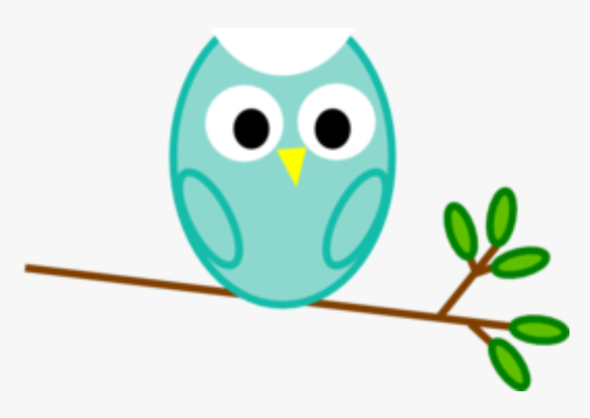 Owl On The Tree, Png V - Owl Clip Art, Transparent Png, Free Download