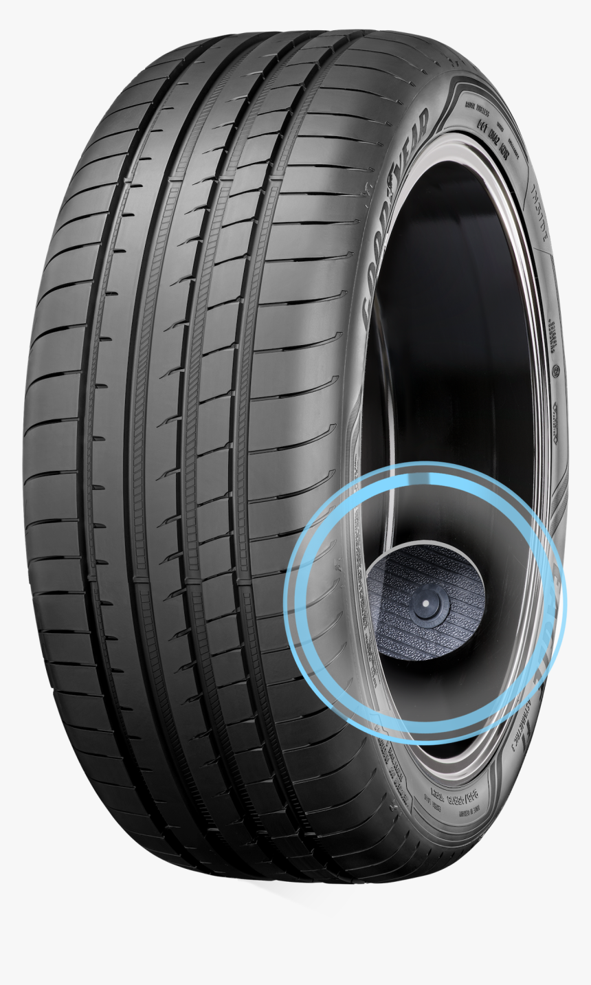 Intelligent Tire - Sensor Placement - Efficientgrip Performance With Electric Drive Technology, HD Png Download, Free Download
