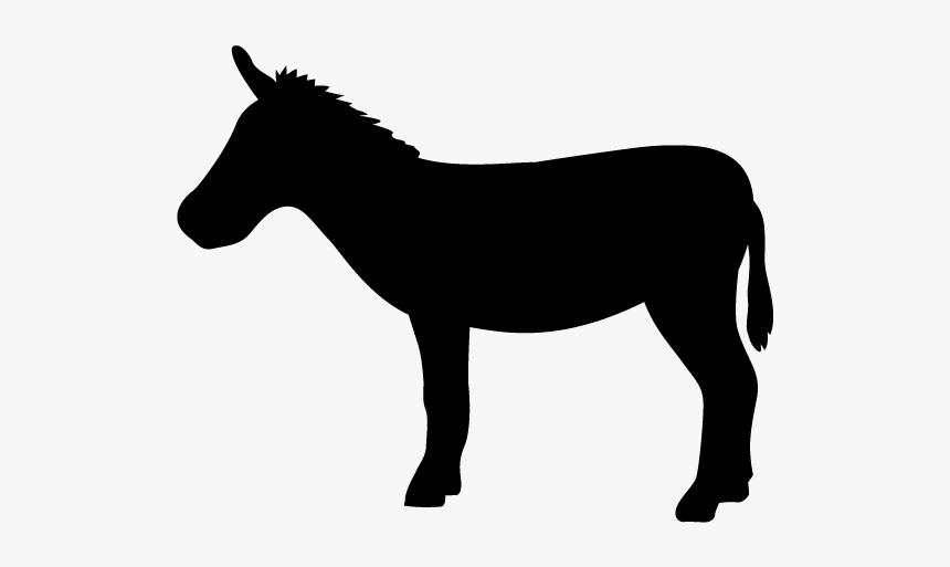 Donkey Clipart Cute - Shadow Puppet Horses, HD Png Download, Free Download