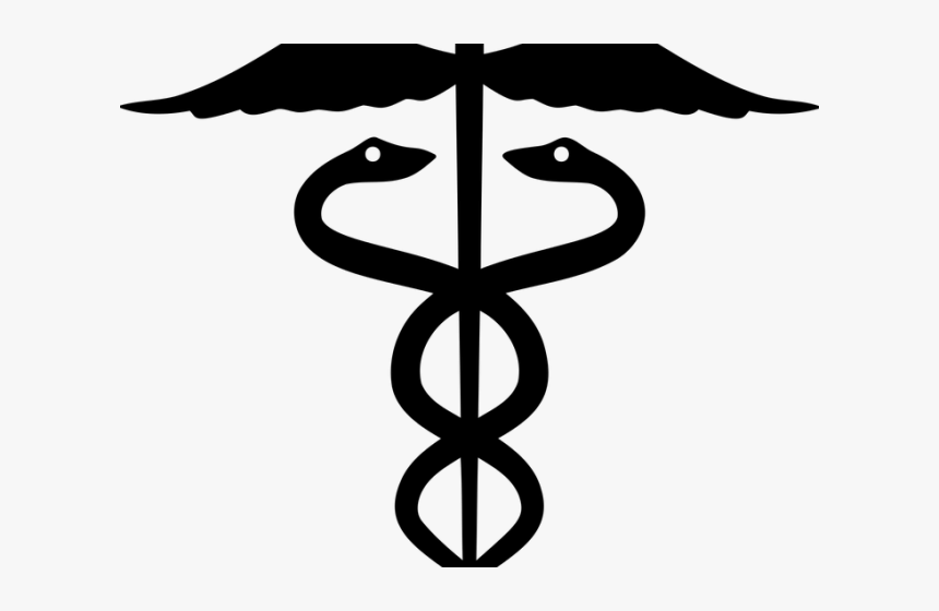 Doctor Symbol Clipart Greek Mythology - Rod Of Asclepius Png, Transparent Png, Free Download