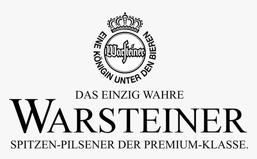Warsteiner Logo Black And White - Warsteiner, HD Png Download, Free Download