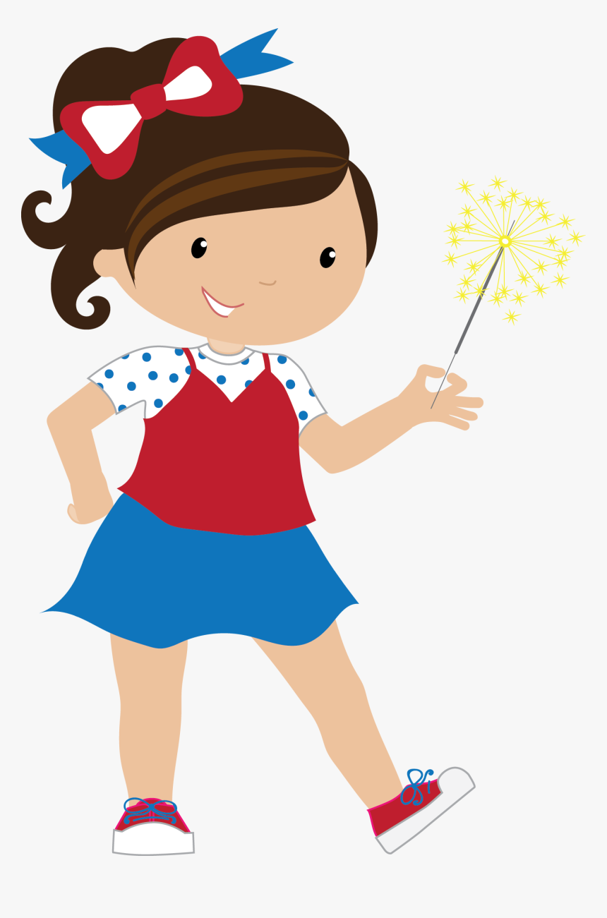 Red White And Blue Kid Clipart, HD Png Download, Free Download