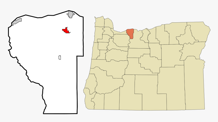 Oregon Map Parkdale, HD Png Download, Free Download