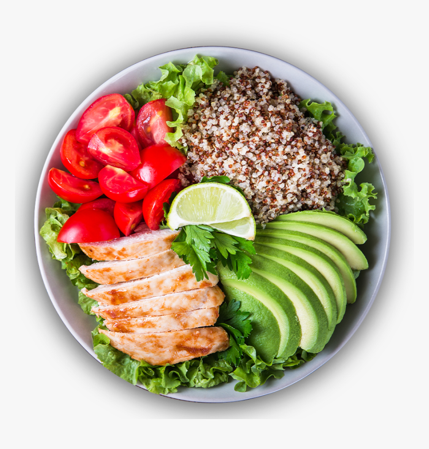 Ensalada De Quinoa Con Pollo Y Aguacate, HD Png Download, Free Download