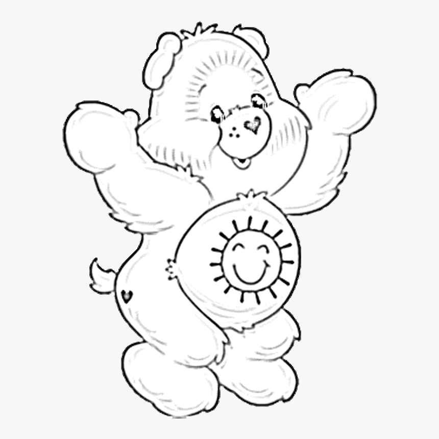Free Printable Care Bear Coloring Pages For Kids | 861x860