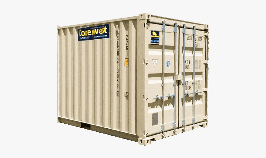 10ft Storage Container For Rent - Shipping Container, HD Png Download, Free Download
