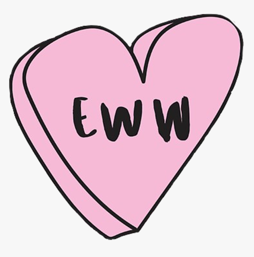 #ew #eww #niche #heart #tumblr #aesthetic #cute #little - Heart, HD Png Download, Free Download