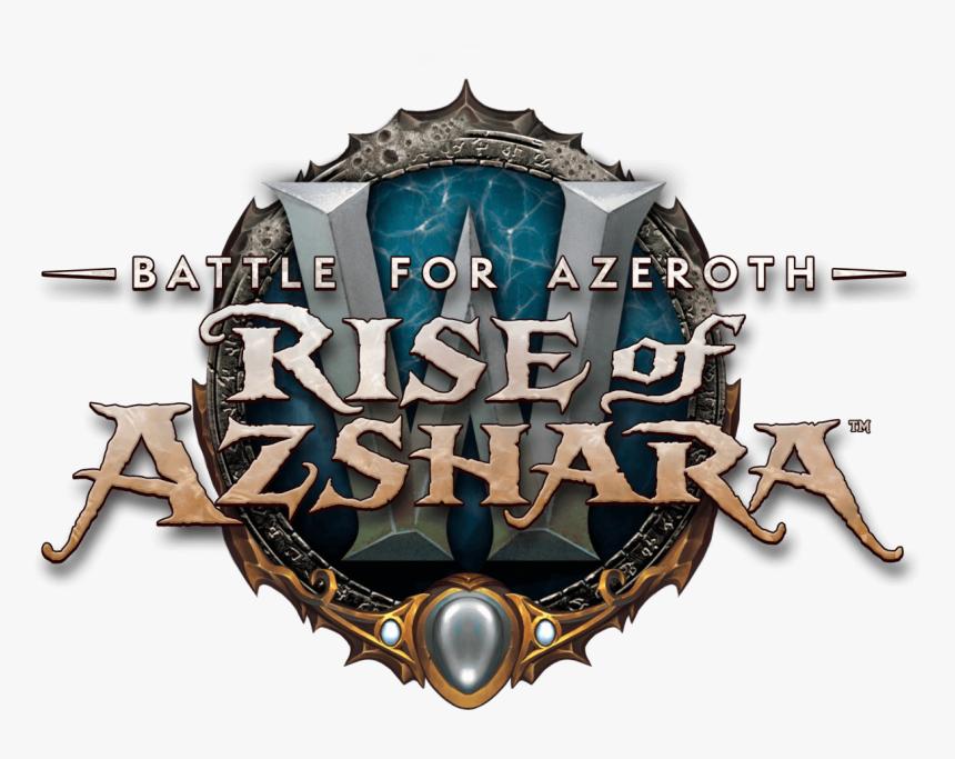 World Of Warcraft - Rise Of Azshara Logo Png, Transparent Png, Free Download