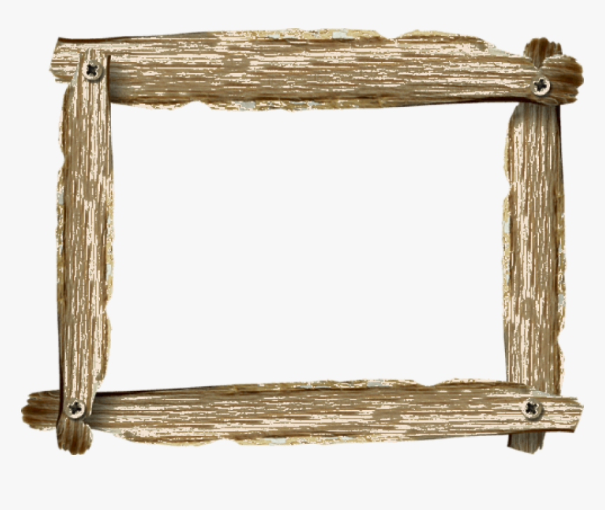 Free Png Download Marco Madera Rust Png Images Background - Wooden Picture Frame Clipart, Transparent Png, Free Download