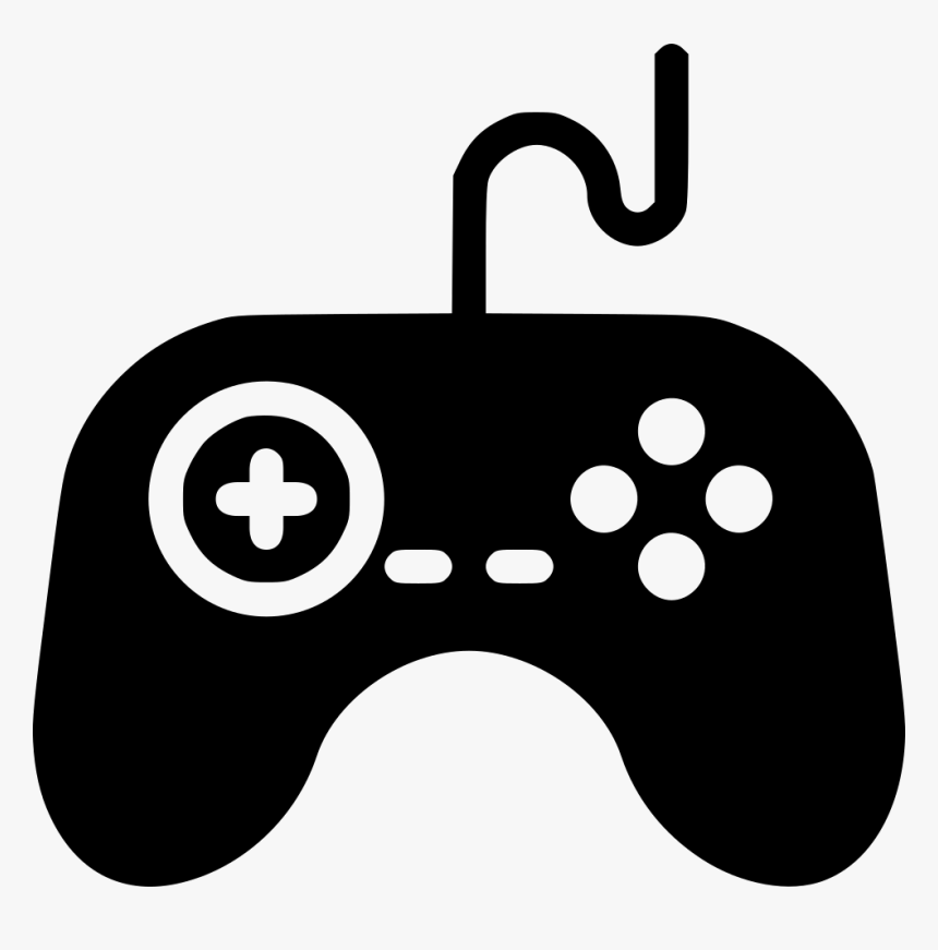 Gamepad Wire Svg Png Icon Free Download - Transparent Game Icon Png, Png Download, Free Download