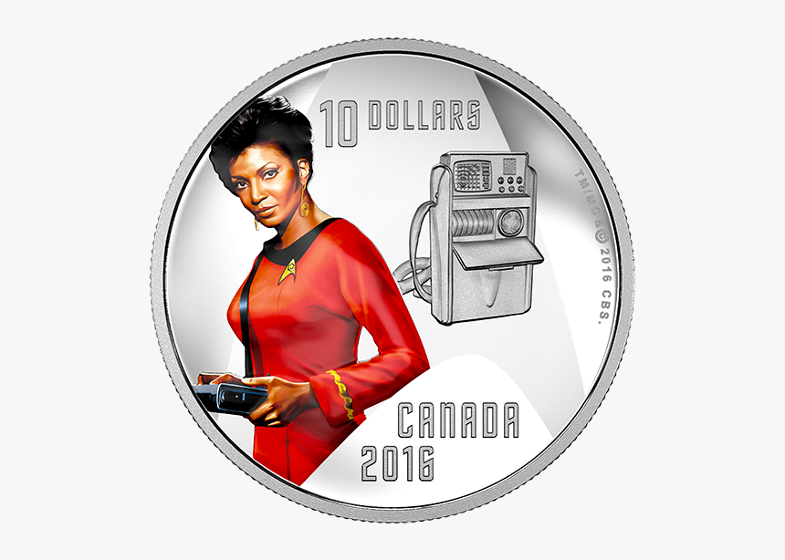 Canadian Mint Star Trek Coins, HD Png Download, Free Download