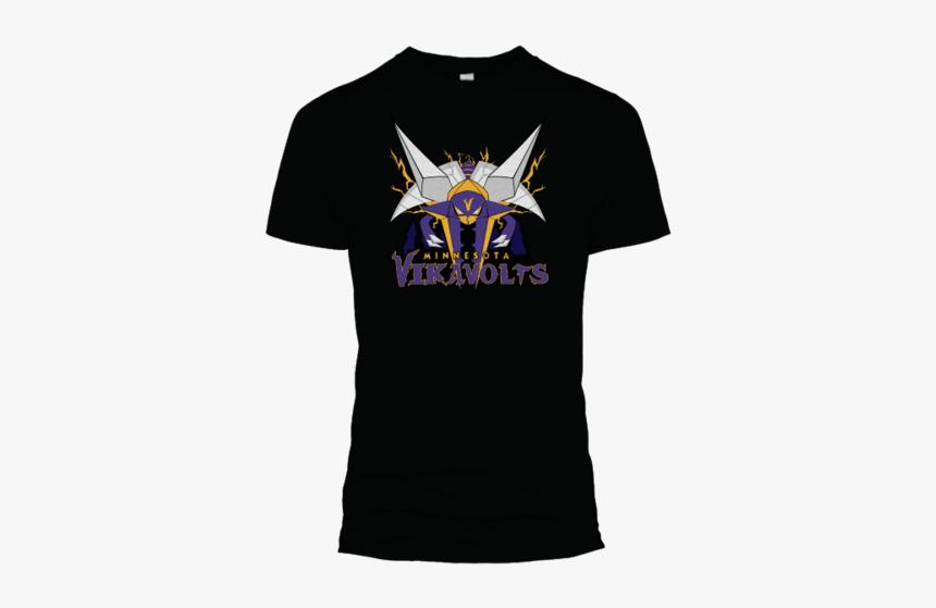 Vikavolts Tees - First Edition - Minnesota Vikavolts T Shirt, HD Png Download, Free Download