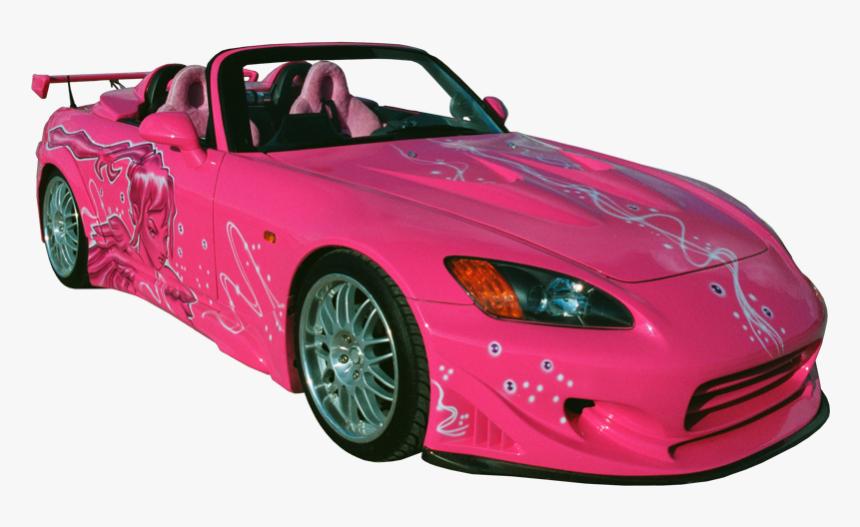 Fast And Furious Cars Png Pink Sport Car Png Transparent Png Download Kindpng