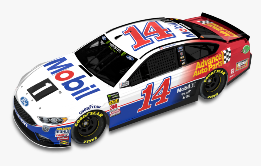 """Clint Bowyer""""s Mobil 1/advance Auto Parts Ford - Stewart Haas Racing Mobil 1, HD Png Download, Free Download"""
