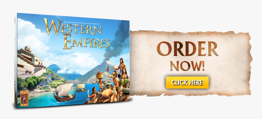 Order Now - Western Empires Board Game, HD Png Download, Free Download