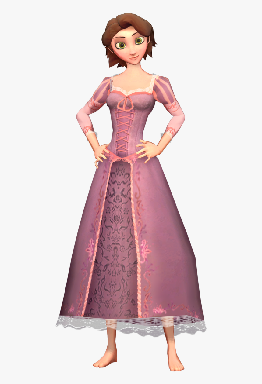 Rapunzel Tangled Flynn Rider Hairstyle Tangled Rapunzel Short Hair Cosplay Hd Png Download Kindpng