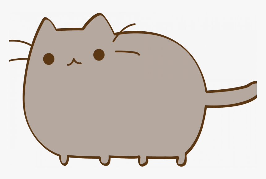 Just A Pusheen The Cat Lover - Transparent Background Cute Stickers Png, Png Download, Free Download