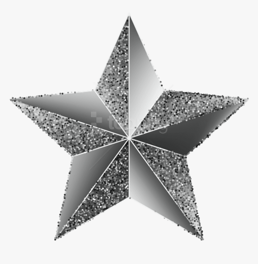 Free Png Download Star Silver Transparent Clipart Png - Star Silver, Png Download, Free Download