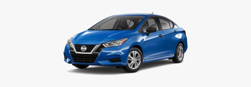 A Blue 2020 Nissan Versa S - 2020 Nissan Versa Gray, HD Png Download, Free Download