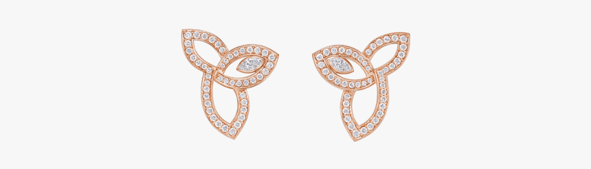 Lily Cluster By Harry Winston, Diamond Earrings In - Body Jewelry, HD Png Download, Free Download