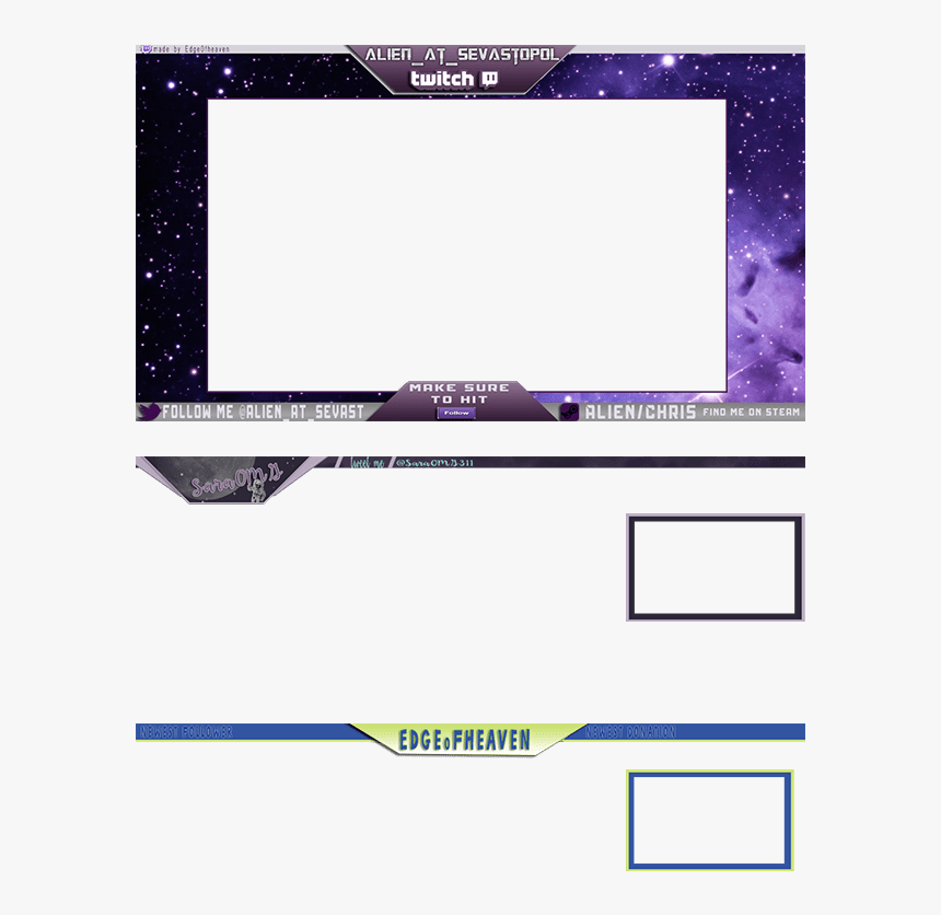 I Will Make You A Twitch Stream Overlay - Twitch Stream Overlay Png, Transparent Png, Free Download